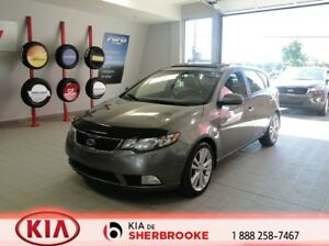 2012 Kia Forte 5-Door SX*A/C*CRUISE*TOIT*CUIR*BLUETOOTH*