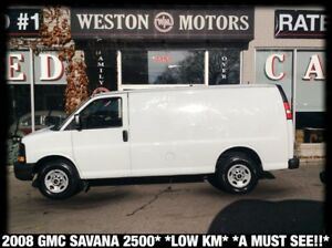 2008 GMC Savana 2500 LOW KM*A MUST SEE!!*