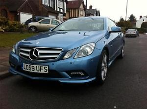 2009 59 REG MERCEDES-BENZ E CLASS E250 CDI BlueEFFICIENCY SPORT COUPE