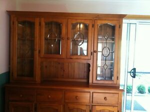 Beautiful 2 piece display cabinet Trevallyn West Tamar Preview
