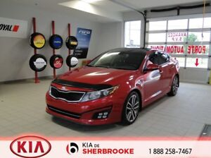 2014 Kia Optima SX Turbo *DÉMARREUR*CUIR*TOIT PANO*CAMERA*NAV*