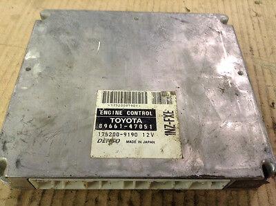 01 02 03 TOYOTA PRIUS ENGINE CONTROL COMPUTER MODULE ECM