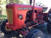 TRACTOR, David Brown 950 Implematic Glenalta Mitcham Area Preview