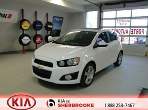 2015 Chevrolet Sonic LT TURBO *TOIT*MAGS*A/C*CRUISE*AUDIO AU VOL