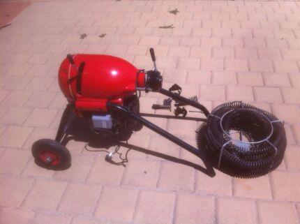 Drain Cleaner Not Rigid Plumbing Sewage Pipe Machine 1400 RPM Kingsley Joondalup Area Preview