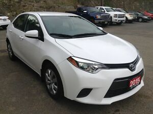 2015 Toyota Corolla LE HEATED SEATS BACK-UP CAMERA Clean Car Pro