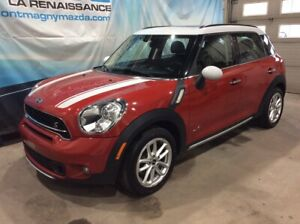 2015 Mini Cooper Countryman S AWD, CUIR,TOIT PANORAMIQUE,
