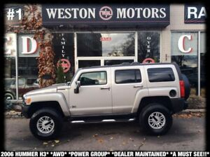 2006 Hummer H3 AWD*POWER GROUP*DEALER MAINTAINED*A MUST SEE!!*