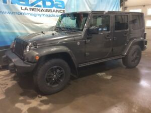 2017 Jeep Wrangler Unlimited WINTER ÉDITION, 2 TOITS, NAV