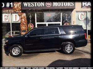 2015 Chevrolet Suburban LT*RARE*7PASS*CAPTAIN CHAIRS*NON-RENTAL*