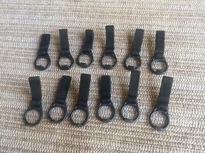 12 Lot Army Military Surplus Mp Police Bianchi Baton Loop Holder Belt Carrier