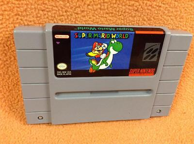 Super Mario World  Cart Only  Nintendo Snes Super Fast Free Shipping