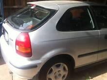 Honda Civic CXi 1998 Hatchback AUTOMATIC 6 months REG & RWC $3590 Keilor Park Brimbank Area Preview
