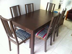 Ikea dining table - extendable 6 to 10 people Regents Park Auburn Area Preview