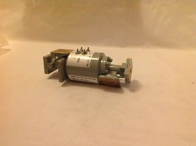 Waveguide Switch Rf Rotation Ma-r-672-hs Made In Usa