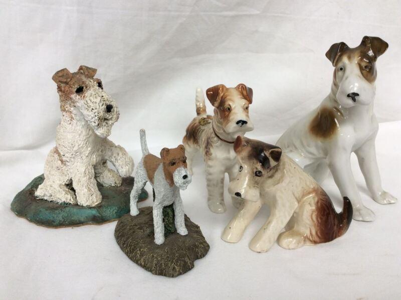 Group Of 5 Fox Terrier 4 - Lot FT7