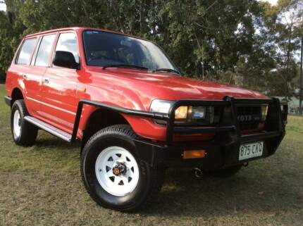 1994 Toyota LandCruiser 80 Series 4.2 Diesel Wagon Rare Eight Mile Plains Brisbane South West Preview