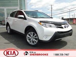 2014 Toyota RAV4 LIMITED * cuir / toit ouvrant *