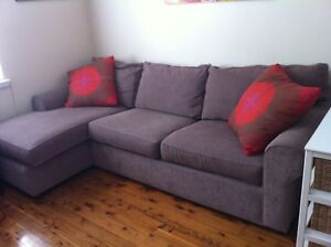 Freedom 3 seater chaise lounge Petersham Marrickville Area Preview