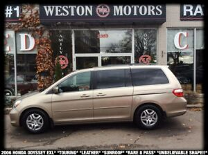 2006 Honda Odyssey EX-L*TOURING*LEATHER*SUNROOF*RARE 8PASS*