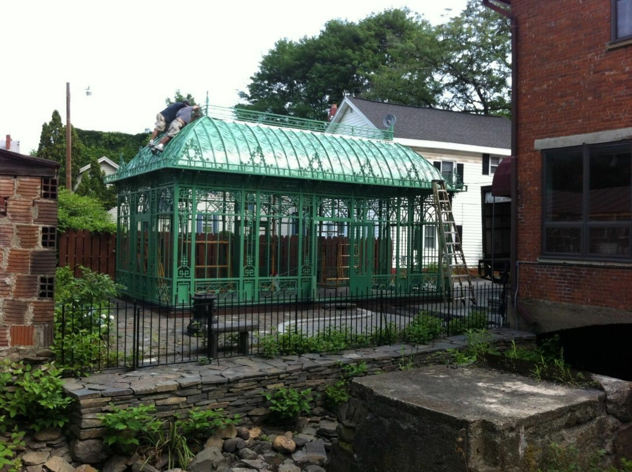 How to build a victorian greenhouse ebay for Victorian style kit homes