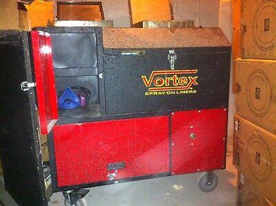 vortex spray liner machine for sale
