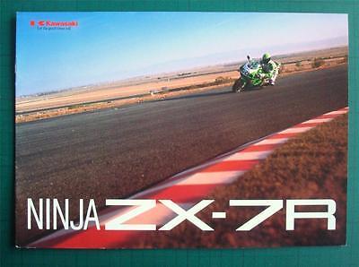 KAWASAKI NINJA ZX-7R - Motorcycle Brochure - 1998 - #99949-1085