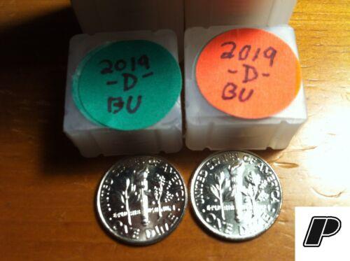 2019 P&D Roosevelt Dimes BU ~BUY 3 SETS GET 1 SET FREE ~FREE FAST S&H