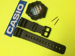 CASIO Genuine for DW-6900 DW6600 G-Shock Black BAND & BEZEL and Pins bars Combo