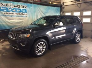 2014 Jeep Grand Cherokee Limited, CUIR, TOIT, GPS