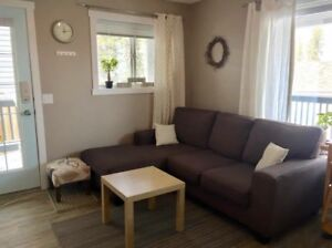 Walkout, 1 bedroom basement suite in Canmore