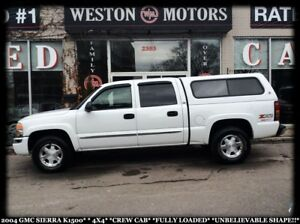 2004 GMC Sierra 1500 4X4*CREW CAB*FULLY LOADED*UNBELIEVABLE SHAP