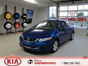 2013 Honda Civic Sdn LX* CRUISE*A/C*BLUETOOTH*AUDIO AU VOLANT*