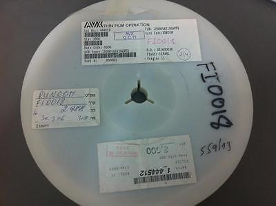 Avx Pn Lp0805a2150awtr - 2988 Pcs Reel Low Pass Filter 2150mhz 0805 Smd