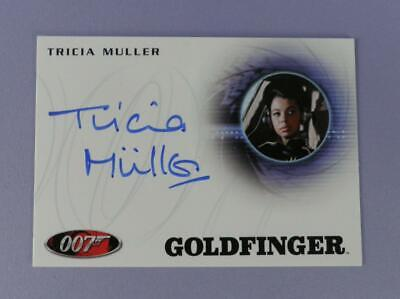 Image of 007 James Bond Autograph Card A169 Tricia Muller As Sydney