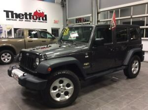 2014 Jeep Wrangler Unlimited SAHARA/NAVI/GARANTIE PLAN OR/117$SE