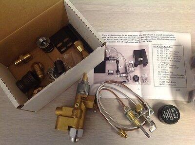 Fireplace Gas Log Safety Pilot Light Complete Kit New   Hpc 80Pknqm