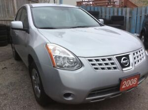 2008 Nissan Rogue 4 Cyl. Mint Condition AUX All Power Options
