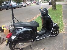 2011 Vespa 300 GTS Fairlight Manly Area Preview