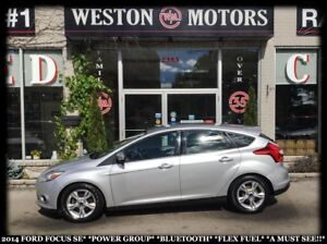2014 Ford Focus SE*PWR GROUP*BTOOTH*FLEX FUEL*A MUST SEE!!*