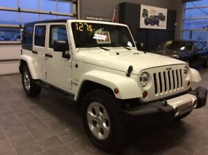 2013 Jeep Wrangler Unlimited SAHARA/NAVIGATION/127$SEM.TOUT INCL