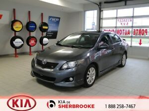 2010 Toyota Corolla S * TOIT* MAGS*CRUISE*A/C*DÉMARREUR*