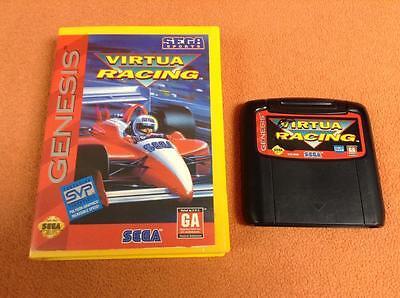 Virtua Racing Sega Genesis Game Free Ship W  Case