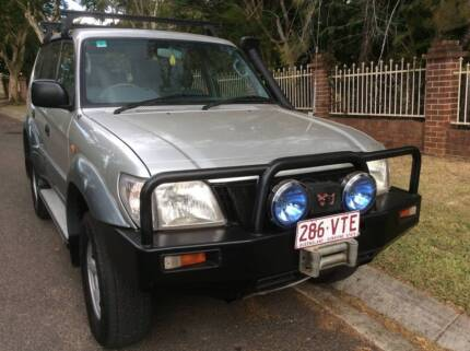 2002 Toyota L/Cruiser Prado Turbo Diesel Auto Loaded with extras Eight Mile Plains Brisbane South West Preview