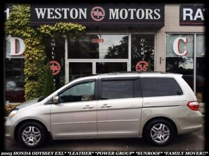 2005 Honda Odyssey EXL*POWER GROUP*SUNROOF*FAMILY MOVER!!*