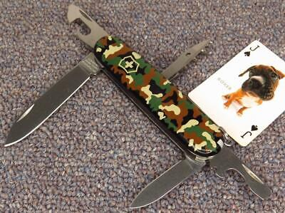 Victorinox Spartan Swiss Army Knife with CAMO Scales, GOOD+++ Condition