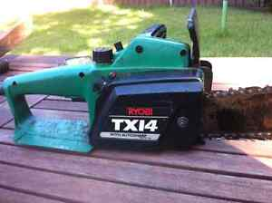 Ryobi electric  chainsaw TX14 Richmond Hawkesbury Area Preview