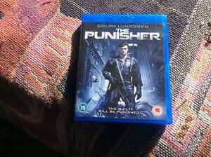 Punisher blu ray Marvel Dolph Lundgren BRAND NEW Margate Redcliffe Area Preview