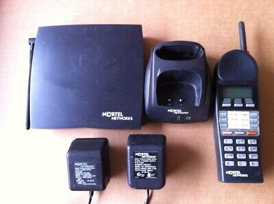 Nortel Norstar T7406 With Base Complete Cordless Phone With 2 Power Supplies