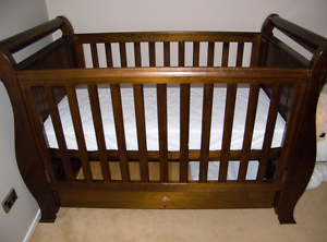 Boori country English oak royal sleigh Bed / Wardrobe / Change t North Geelong Geelong City Preview